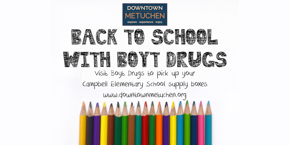 Back To School With Boyt Drugs