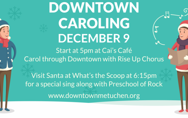 Downtown Caroling